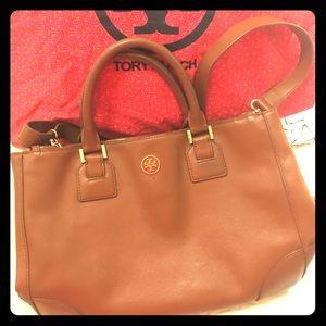 Tory Burch Tan Leather Tote